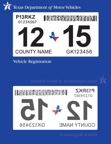 Texas Department of Motor Vehicles Responds to Customers, Introduces New Feature to State Vehicle Registration Sticker