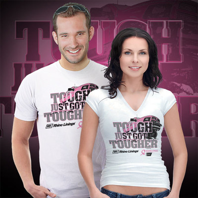 Order your Tough Just Got Tougher shirt at www.buyrhino.com. All profits from the shirt sales go to the American Cancer Society. (PRNewsFoto/Rhino Linings Corporation)