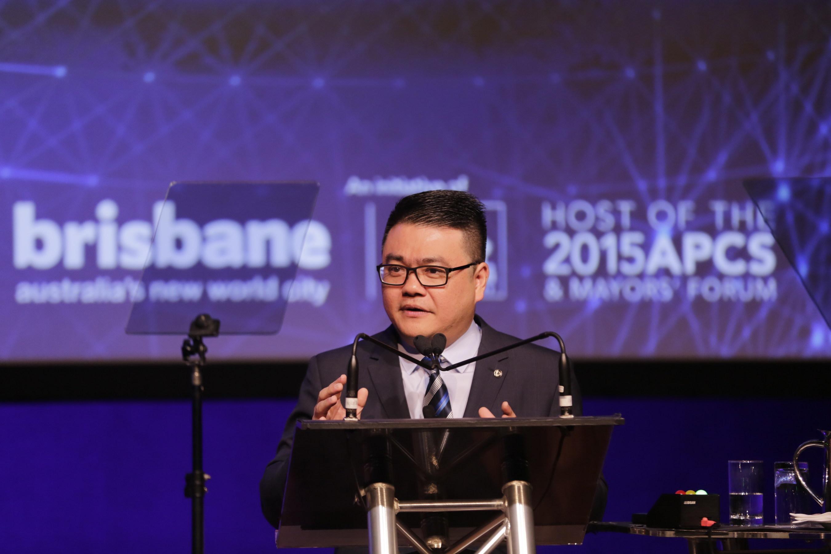 SY Lau Speaks at APCS in Brisbane