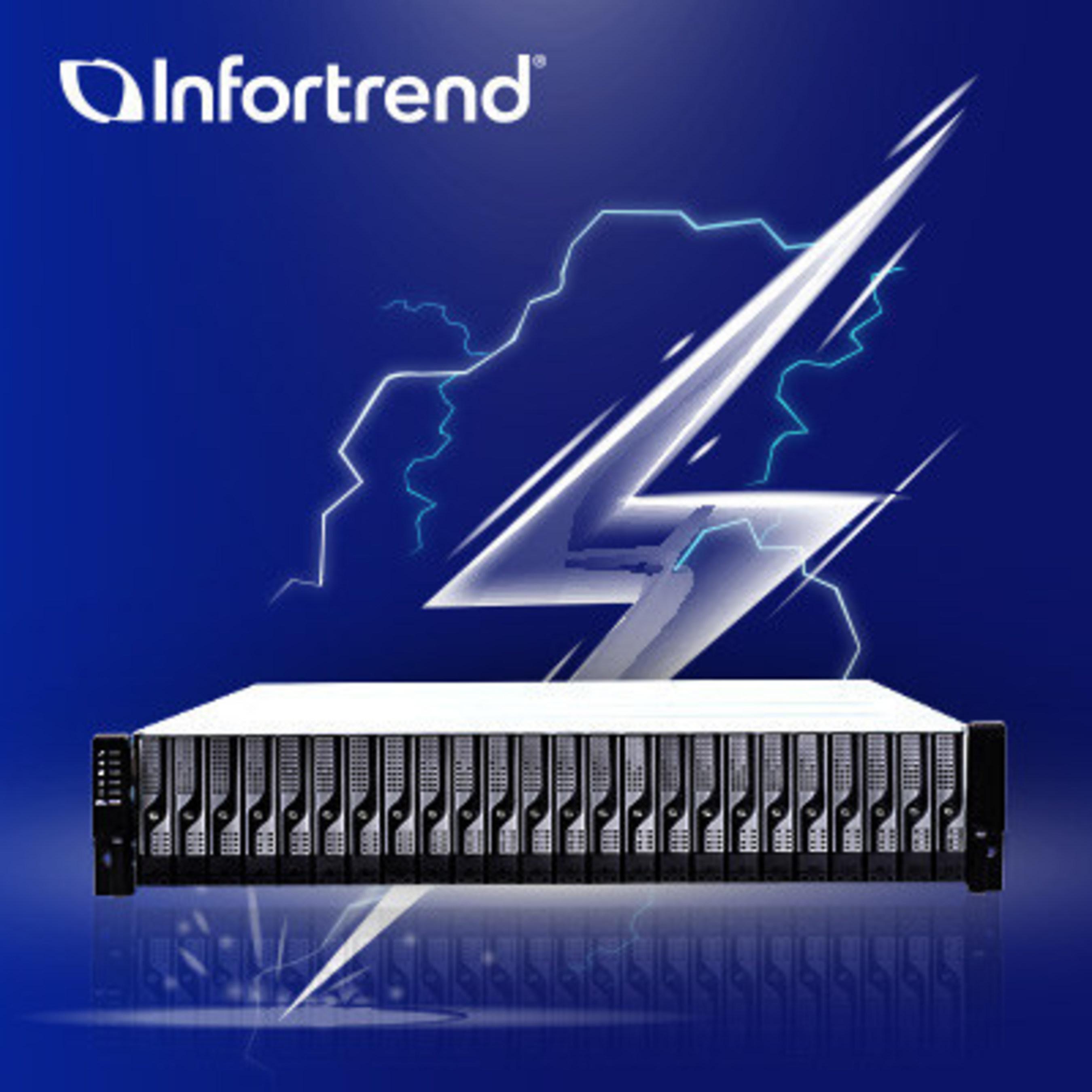 Компания Infortrend представляет ультрапроизводительный «EonStor DS 4000 Gen2»