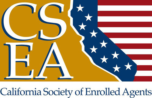 California Society of Enrolled Agents Logo.  (PRNewsFoto/California Society of Enrolled Agents)