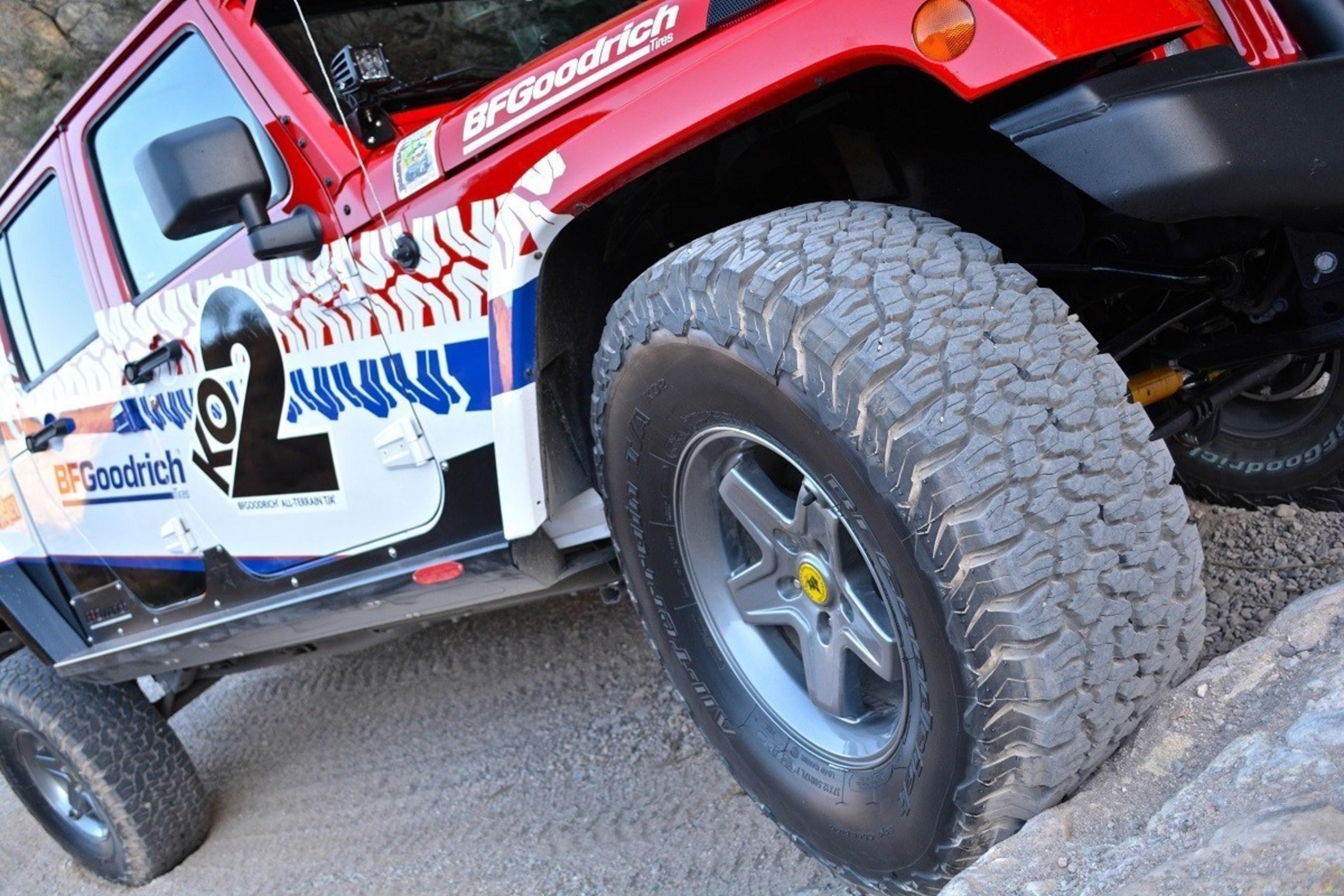 Bfgoodrich Tires Celebrates 1 Million All Terrain Ta Ko2 Sales In