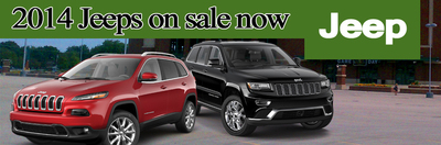 S&L Motors has several 2014 Jeep vehicles on sale in Green Bay. (PRNewsFoto/S&L Motors) (PRNewsFoto/S&L MOTORS)
