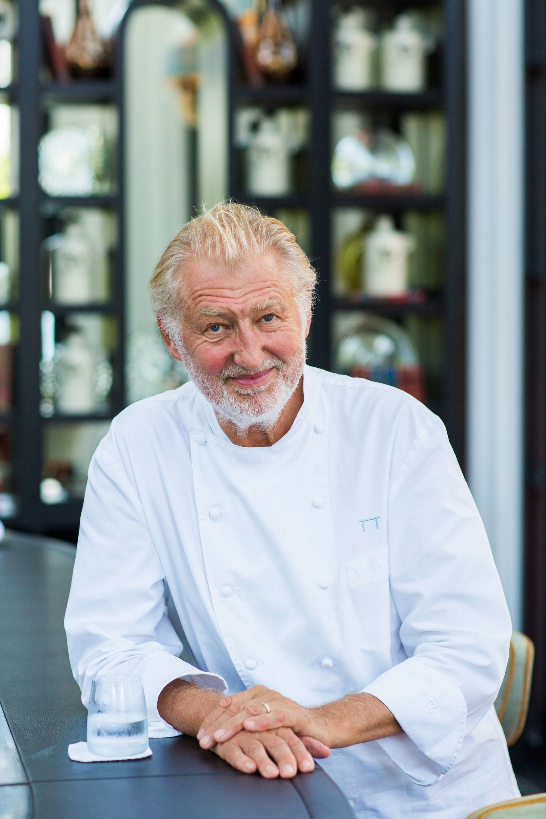Pierre Gagnaire:  Best Chef in the World 2015 as voted by his industry peers according to French Magazine Le Chef. Photo credit:  (C) Jacques Gavard