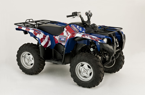 "Yamaha Launches ""Assembled in USA"" Grizzly 700 EPS ATV Sweepstakes.  (PRNewsFoto/Yamaha Motor Corp., ..."