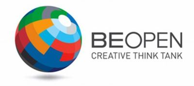 BE OPEN logo
