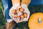 Fall in love with a new favorite: Lindt LINDOR Pumpkin Spice truffles. Photo credit: Wells & Grace