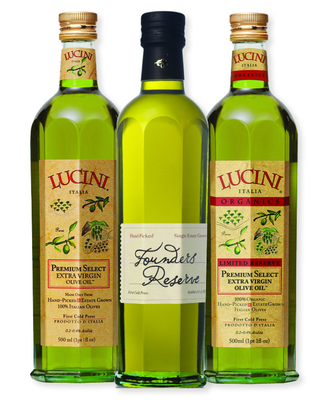 Three Lucini extra virgin olive oils receive medals including two best-of-show awards at the 2014 Olive Japan International Extra Virgin Olive Oil Competition (PRNewsFoto/Lucini Italia)