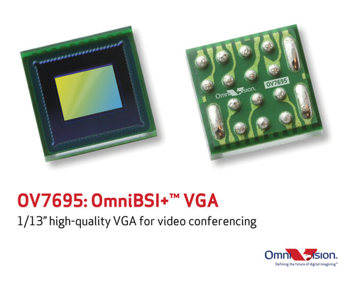 The OV7695 is OmniVision Technologies' smallest high-performance VGA CameraChip(TM) solution for ...