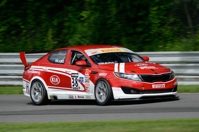 Kia Racing returns to American soil at Mid-Ohio following top-five finish at Toronto.  (PRNewsFoto/Kia Motors America)