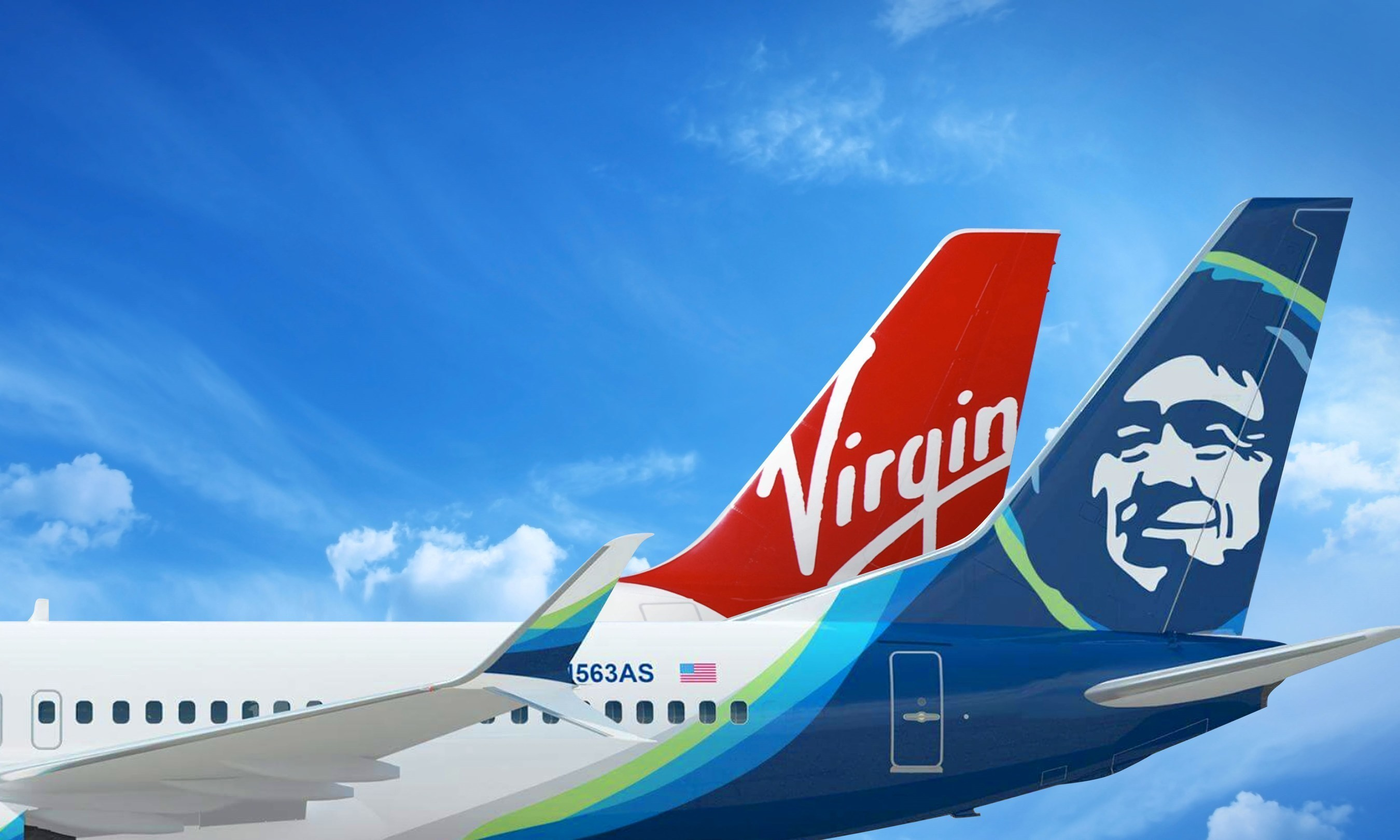 alaska airlines and virgin america today announced their intention to merge creating the premier west