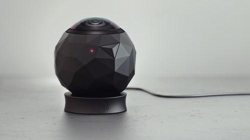 360fly Camera and Base (PRNewsFoto/360fly)