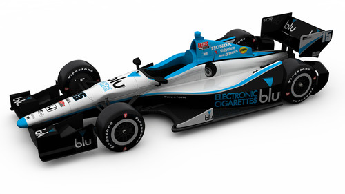 blu eCigs continues its 2013 sponsorship season as the primary sponsor of the #15 RLLR IndyCar racing program ...