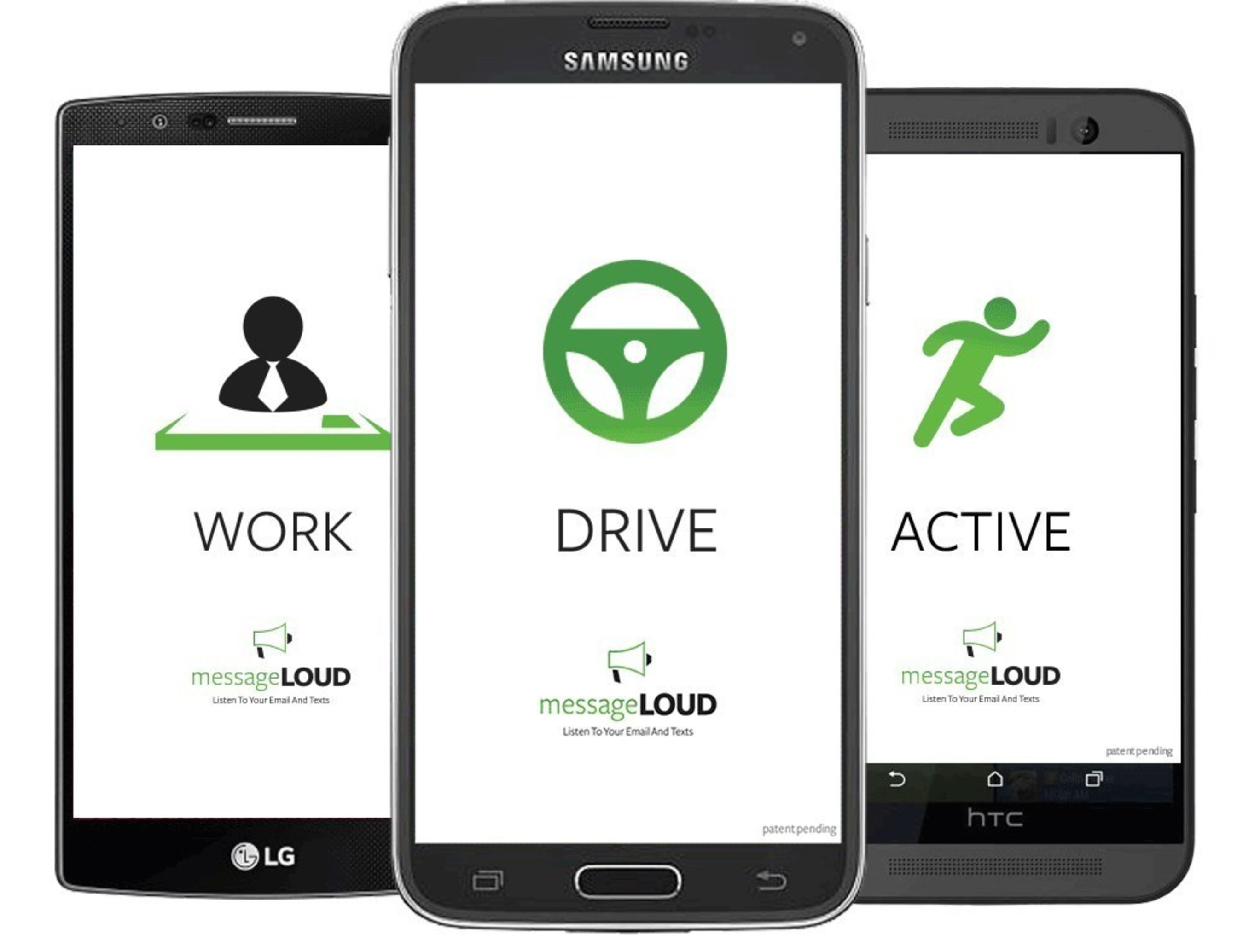 messageLOUD is a mobile messaging service that automatically READS your texts and email out LOUD without requiring you to look at your phone. messageLOUD enhances SAFE driving. Get the messageLOUD app today at the Google Play Store.