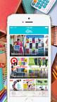 Back to school shopping using the Flipp app. (PRNewsFoto/24/7 Moms)