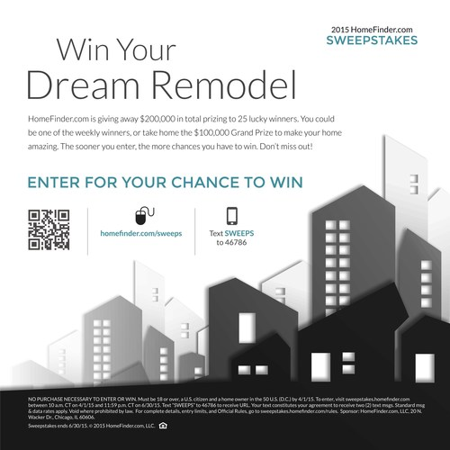 Home Finder For Rent: '2015 HomeFinder.com Sweepstakes' To Give Away $200,000 In