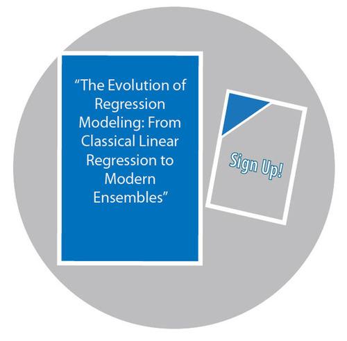 Evolution of Regression Modeling Webinar Registration.  (PRNewsFoto/Salford Systems)