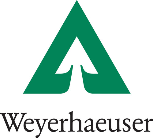 Weyerhaeuser Company logo. (PRNewsFoto/Weyerhaeuser Company) (PRNewsFoto/)