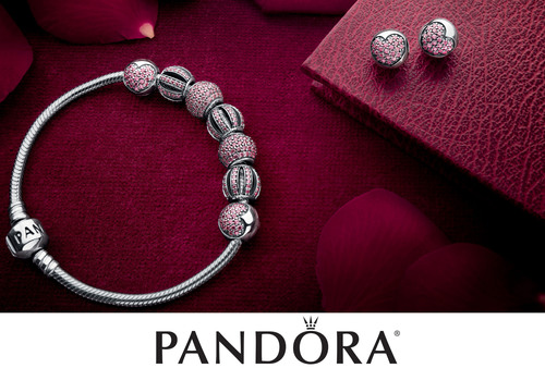 PANDORA Introduces Dazzling Openwork Pave and Sparkling Stone Charms.  (PRNewsFoto/PANDORA Jewelry)