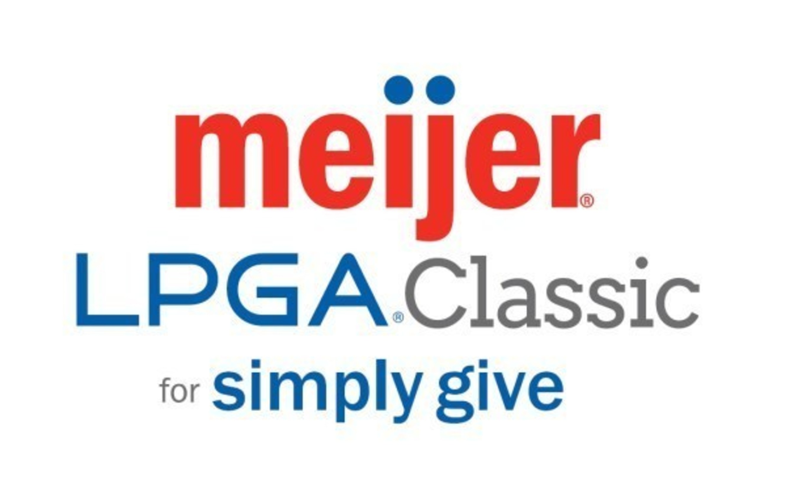 The 2016 Meijer LPGA Classic for Simply Give tournament will be held June 13-19 at Blythefield Country Club, and benefit Meijer's Simply Give program that restocks the shelves of food pantries across the Midwest.