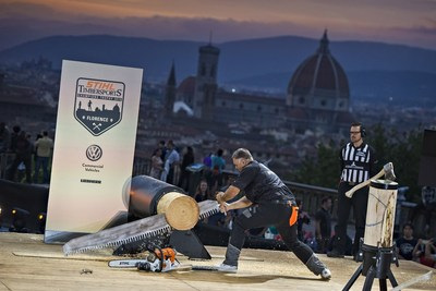 STIHL TIMBERSPORTS® Series and Volkswagen Commercial Vehicles in Cooperative Link-up