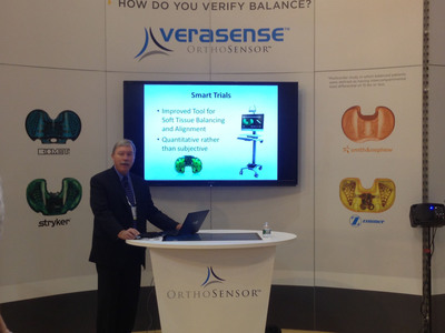 Successful One-Year Clinical Results for VERASENSE Multicenter Evaluation Presented at 2014 AAOS Annual Meeting