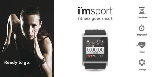 i'm Watch Starts a New and Smart Fitness Concept at Mobile World Congress: i'msport