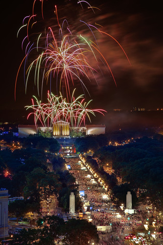 As the birthplace of America, Philadelphia knows how to shine. Fireworks blazing over the Philadelphia Museum ...