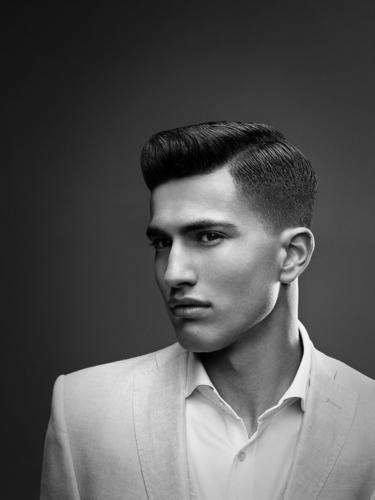 American Crew 2013-2014 All-Star Challenge; hair by Global Champion and German Finalist Jerome Kantner at ...