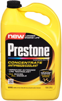 Prestone with Cor-Guard Inhibitors (PRNewsFoto/Prestone)