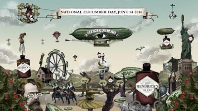 Hendrick's Gin Cucumber Day 2016