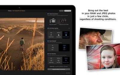 DxO OpticsPro for OS X Photos