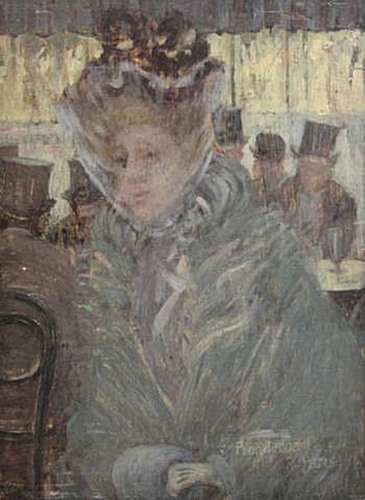 Maurice Prendergast Paris Scene Oil Painting Unearthed at Clarke Auction