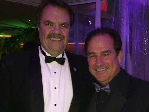 Joseph Lambert Lambert Private Equity LLC with Santa Barbara Sheriff Bill Brown. A strong supporter of law ...