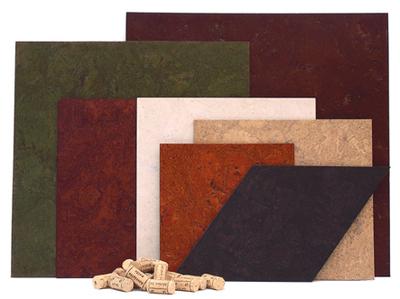 Colored Cork Flooring from CorkFloor.com (PRNewsFoto/Globus Cork Inc.)