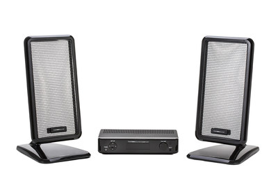 Turtle Beach's revolutionary HyperSound Clear 500P directional audio system for the home.