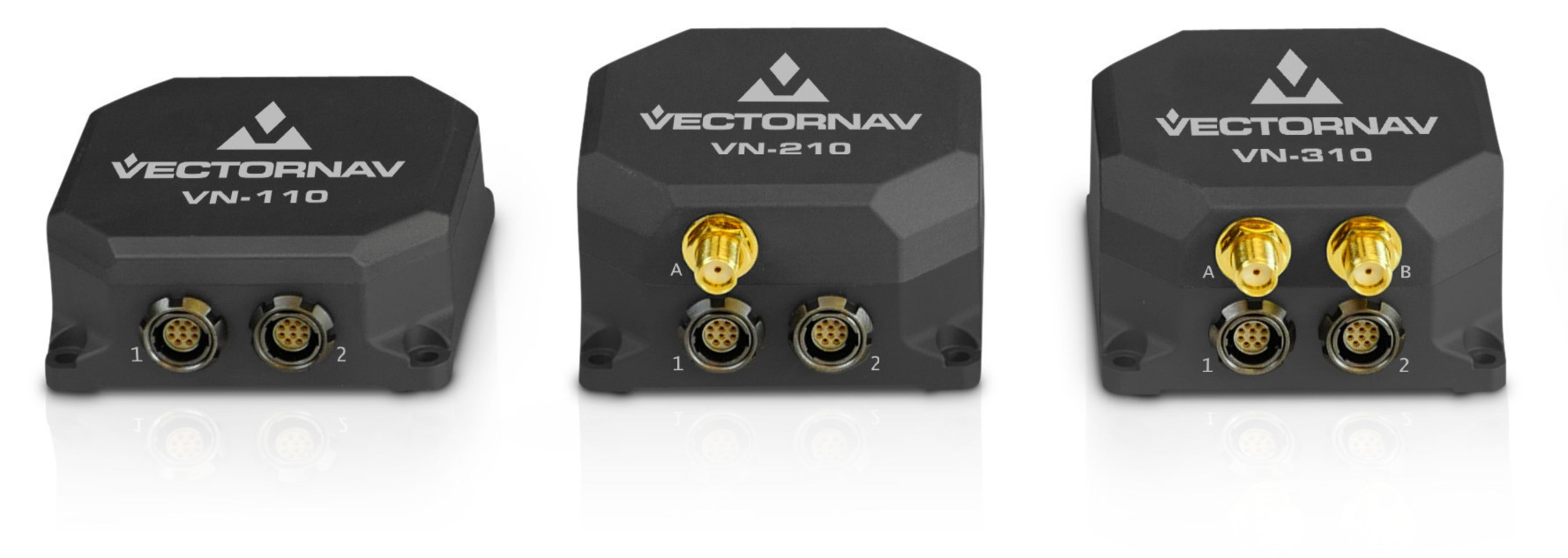 VectorNav Tactical Series VN-110 IMU/AHRS, VN-210 GPS/INS and VN-310 Dual GPS/INS