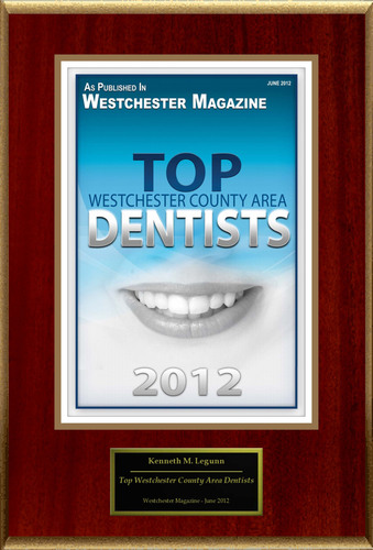 "Kenneth Legunn Selected For ""Top Westchester County Area Dentists"".  (PRNewsFoto/American Registry)"