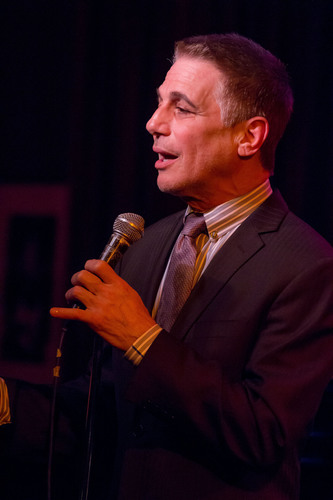 "Television and stage icon, Tony Danza (Emmy Award and Golden Globe Nominee). Mr. Danza performed ""Out of the Sun"" from the Broadway-bound new musical, ""Honeymoon in Vegas"" at the Broadway Belts for PFF! fundraiser to benefit the Pulmonary Fibrosis Foundation at Birdland in New York City on February 24, 2014. Photo by Seth Walters.    (PRNewsFoto/The Pulmonary Fibrosis Foundation, Seth Walters)"