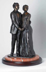 Dred Scott statue to be unveiled June 8, 2012.  (PRNewsFoto/The Dred Scott Heritage Foundation)