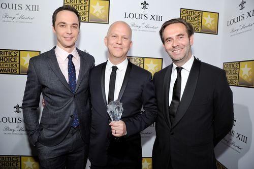 Jim Parsons, Ryan Murphy & Augustin Depardon (PRNewsFoto/LOUIS XIII de Remy Martin)