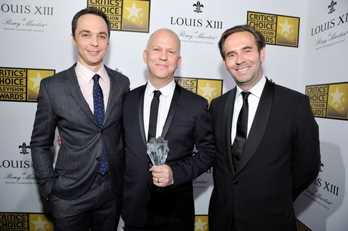 Jim Parsons, Ryan Murphy & Augustin Depardon