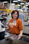 50,000 H-E-B employees wear favorite college T-shirt to work on GenTX Day.  (PRNewsFoto/Generation TX)