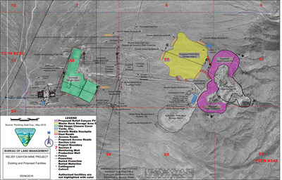 Pershing Gold Announces Blm Has Published The Preliminary Environmental Assessment And Started