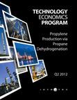 Propylene from Propane Dehydrogenation Report.  (PRNewsFoto/Intratec Solutions LLC)