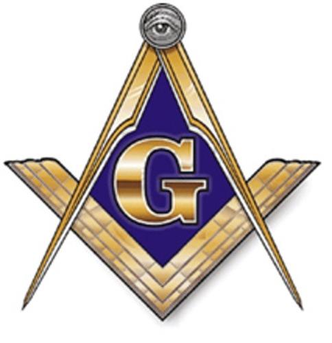 Masonic Emblem.  (PRNewsFoto/Wesley Berry)