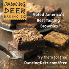 Announcing America's Best Tasting Brownie and the Winner Is - Dancing Deer Baking Company!