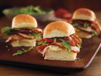 Spice Rubbed Pork Loin BLT Sliders with Dijon Remoulade.  (PRNewsFoto/The National Pork Board)