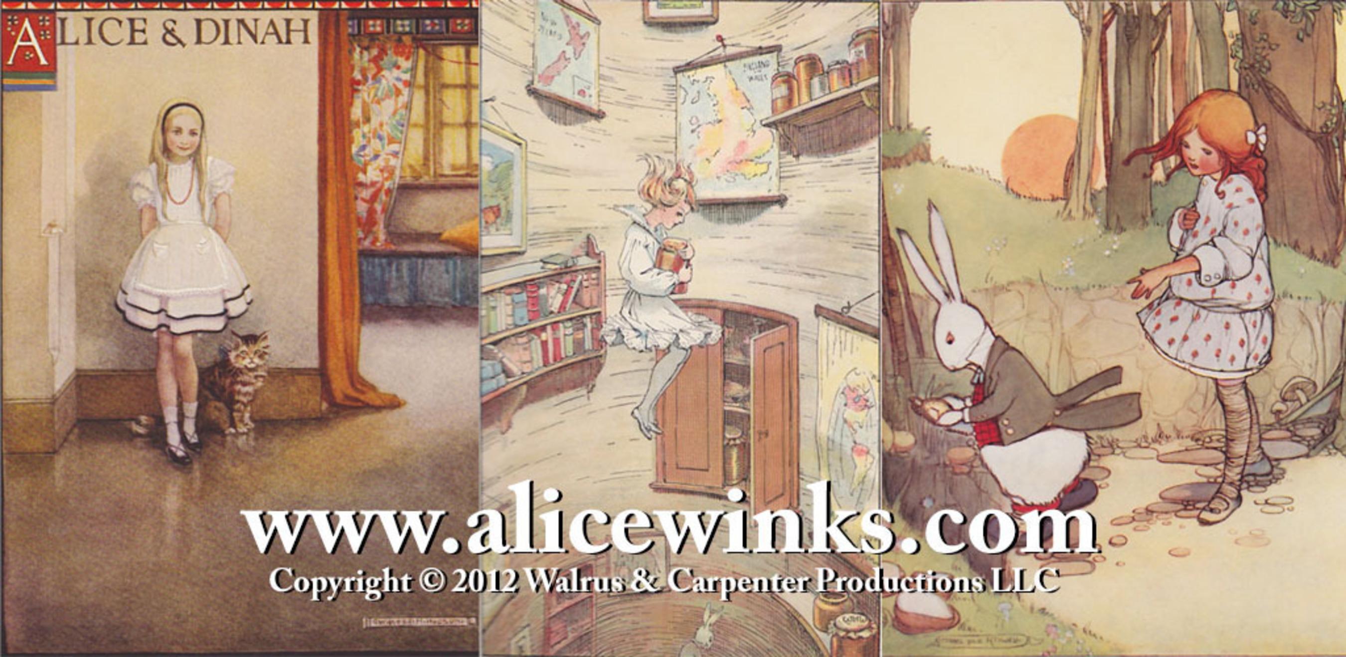 Alicewinks image #2.  (PRNewsFoto/Walrus & Carpenter Productions LLC)