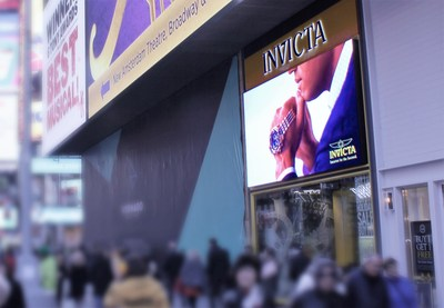 Invicta Store, Times Square NY; Photo by S|N|A